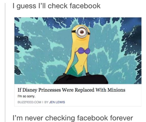 funny, minions, and tumblr image