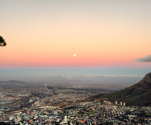 amazing, cape town, and moon image