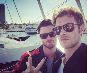 joseph morgan, daniel gillies, and The Originals image