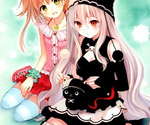 anime, anime girl, and lolita fashion image