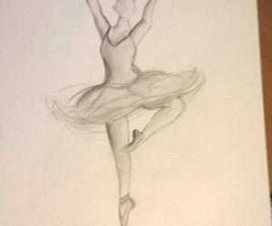 ballerina, Flying, and dancing image