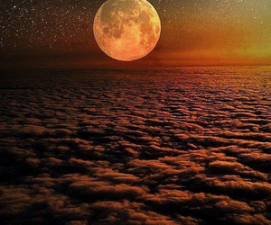 moon, photography, and stars image