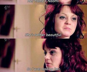 emily fitch, Kathryn Prescott, and skins image