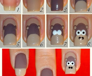 brown, fashion, and nails image