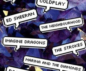 coldplay, ed sheeran, and imagine dragons image