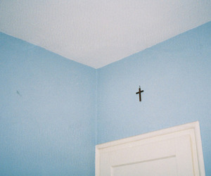 blue, room, and edit image