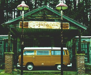 1960s, bus, and hippie image