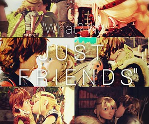 astrid, couple, and hiccup image