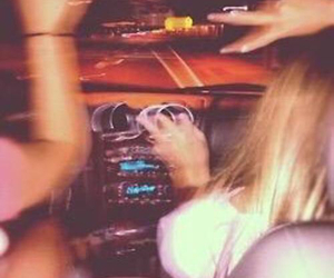 car, party, and friends image