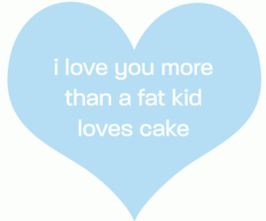 quote, love, and cake image