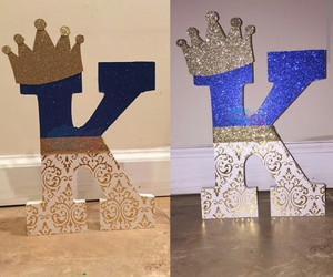 blue, gold, and king image