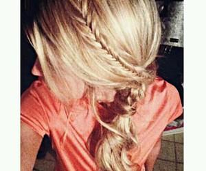 fashion, cabello, and peinado image