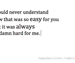broken hearted, hard, and heart image
