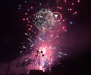 colors, fireworks, and fourth image