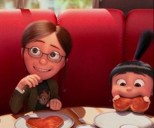 agnes, breakfast, and heart image