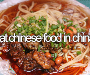 before i die, china, and chinese food image