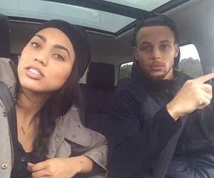 couple and steph curry image