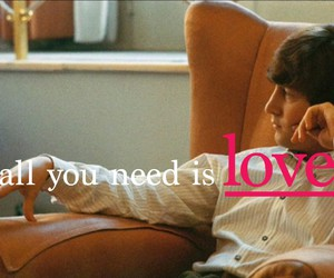 all you need is love, lennon, and the beatles image