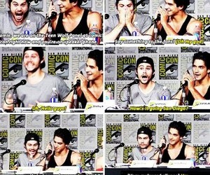 teen wolf, hobrien, and sdcc15 image