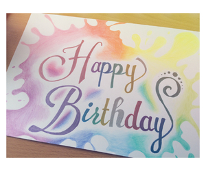 art, birthday, and colorful image