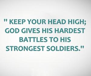 god, soldier, and battle image