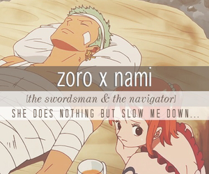 couple, one piece, and ñami image