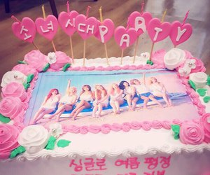 snsd, cake, and party image