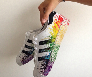 adidas, colors, and cool image