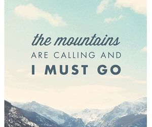 mountains, quote, and travel image