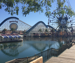 california adventure, happiest place on earth, and disneyland image