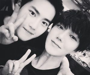exo, suho, and yesung image