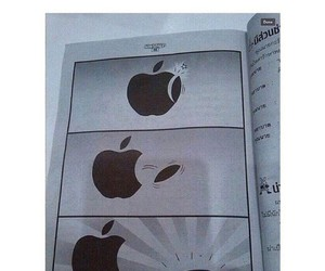 samsung, apple, and funny image