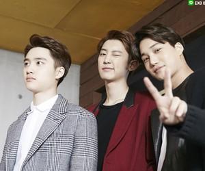 kai, exo, and chanyeol image