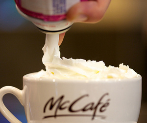 cafe, sweet, and McDonalds image