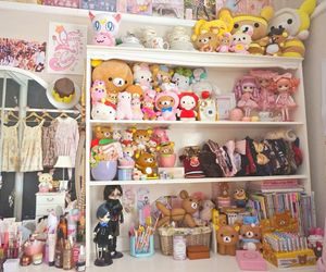 kawaii, room, and pink image