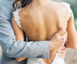 back, details, and wedding image