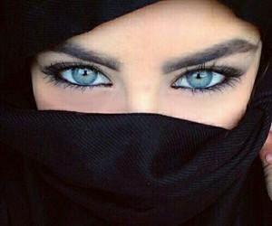 eyes, blue eyes, and blue image