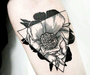 bras, tattoo, and femme image