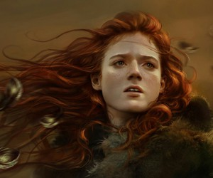 game of thrones, ygritte, and art image