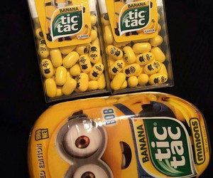 yellow, food, and minions image