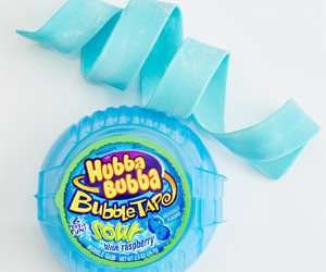 blue, hubba bubba, and candy image