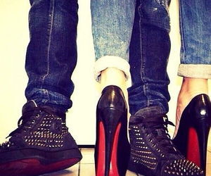 love, heels, and shoes image