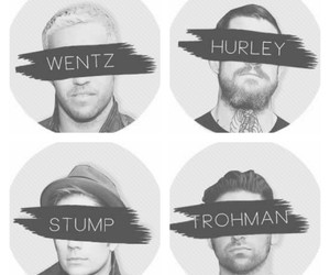 fall out boy, FOB, and petewentz image