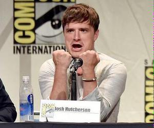 hunger games, josh hutcherson, and sdcc image