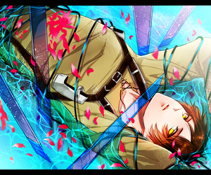 anime and eren jaeger image