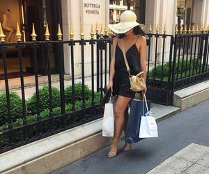 fashion, shopping, and girl image