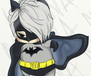 batman, chibi, and the gazette image