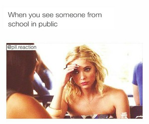 funny, HAHAHA, and pretty little liars image