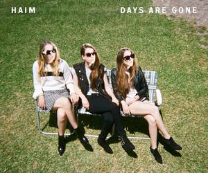 music, haim, and days are gone image