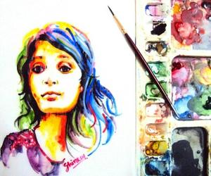 art and watercolors image